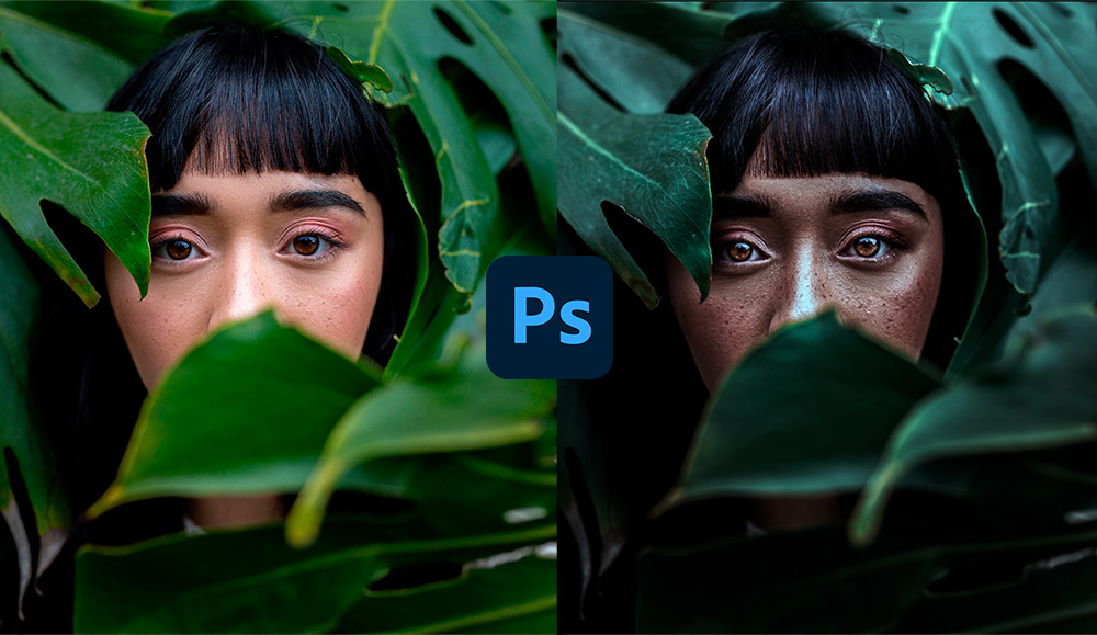 Create blocks and add depth to images in Photoshop
