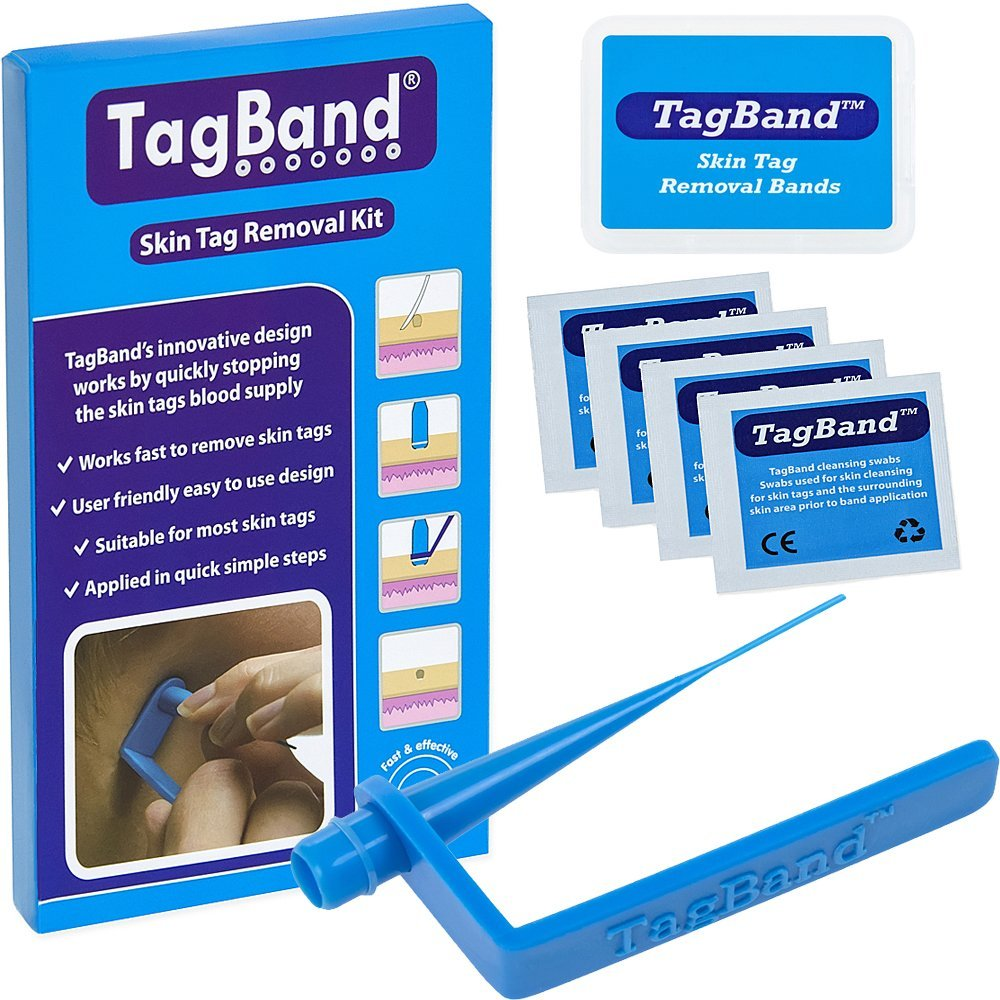 TagBand Skin Tag Removal Device, how to remove skin tags