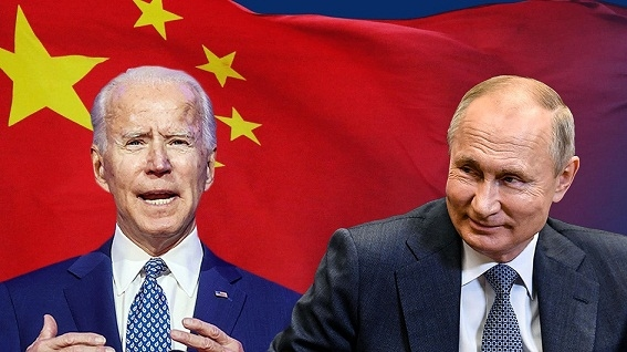 Mr. Biden is talented enough to 'force Russia, avoid giving Russia to China'?