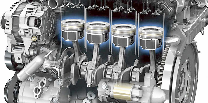 3 parts directly affect the capacity of a car engine