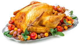 Healthy options for Christmas dinner