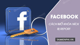 How to unlock Facebook account was reported