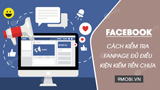 How to check whether Facebook Fanpage is eligible to make money or not