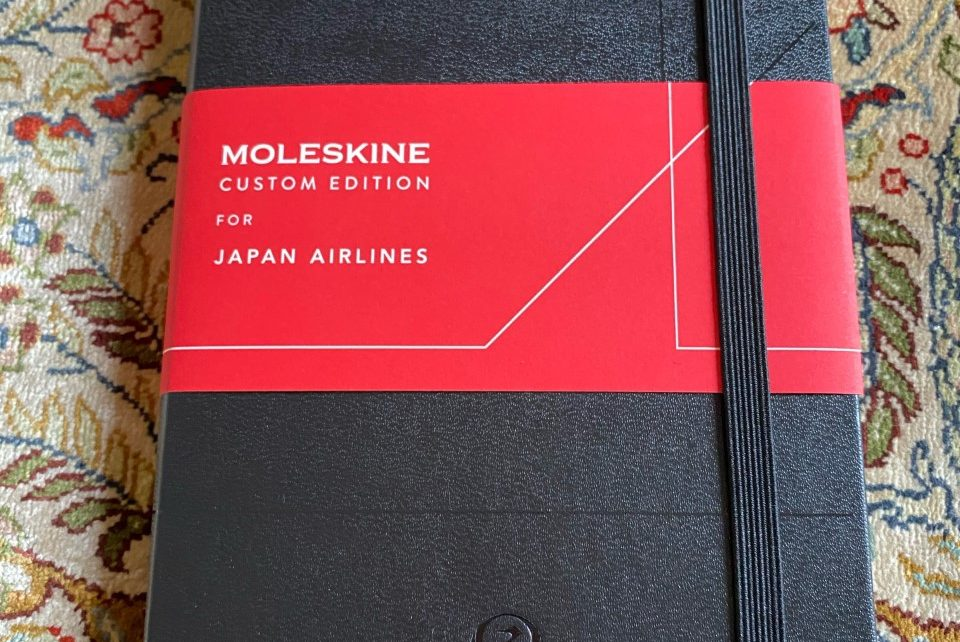 Journal Recommendations ② ~ MOLESKINE for JAL