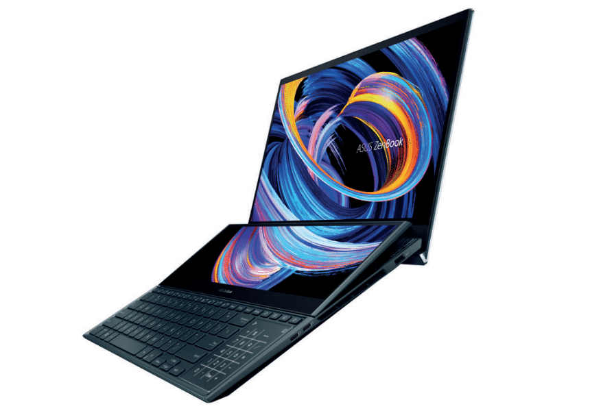 Image 1: Asus refreshes its ZenBook (Pro) Duo by integrating the Zephyrus Duo hinge
