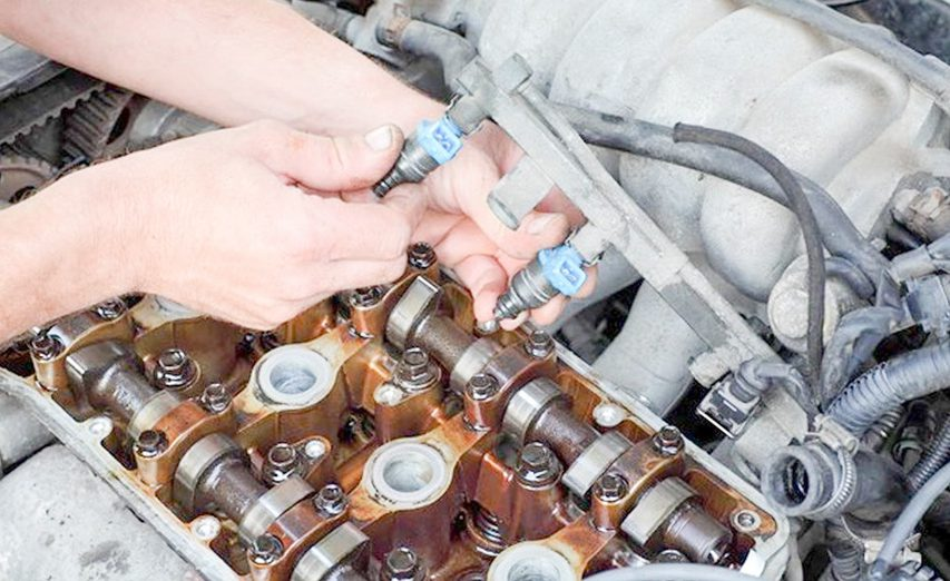 How to fix leaky car fuel injectors