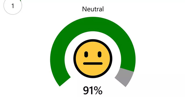"""The application evaluates the ability to """"act"""" on the face via Emoji's from the owner of Microsoft, please download and experience"""