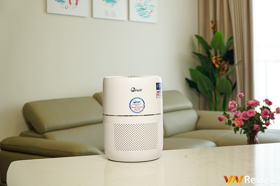 Experience the FujiE AP300 air purifier: Compact, stable performance, convenient Wi-Fi connection - VnReview