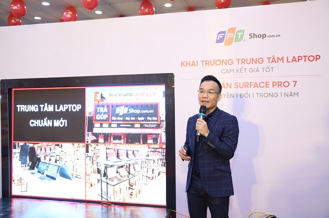 """FPT Shop simultaneously opened 30 modern """"new standard"""" laptop centers across the country - VnReview"""