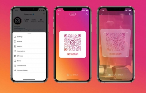 How to create QR codes for personal Instagram very quickly!