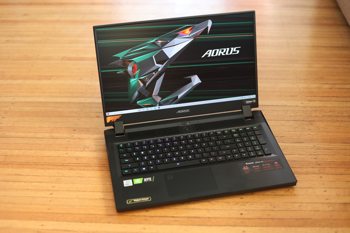 Aorus 17 with GeForce RTX 3080 and Core i7-10870H