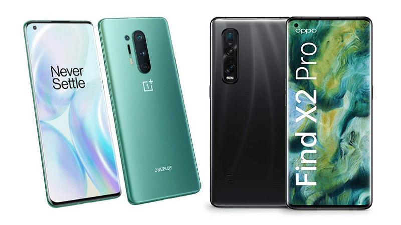 OnePlus 8 Pro and OPPO Find X2 Pro - OnePlus and OPPO