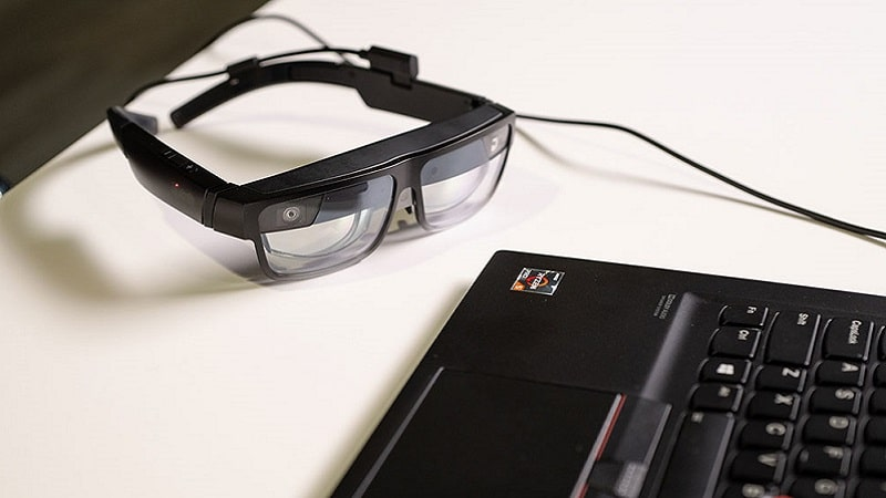 Professional augmented reality glasses