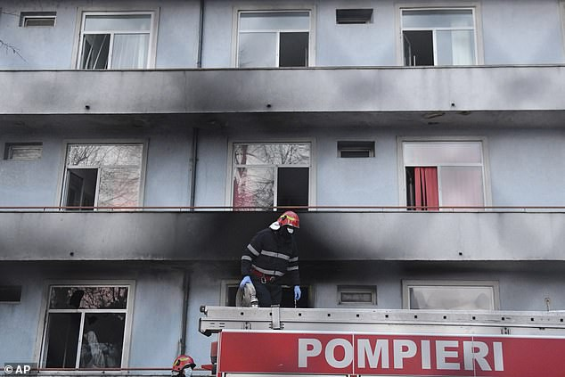 Romania: Hospital fire COVID-19, 5 patients died tragically - photo 1