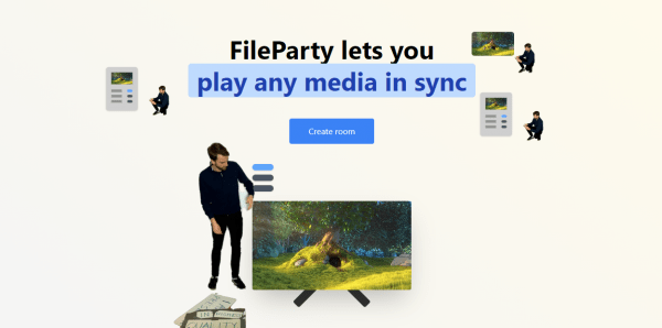 FileParty: Share New Year's Videos, Songs, Images 1