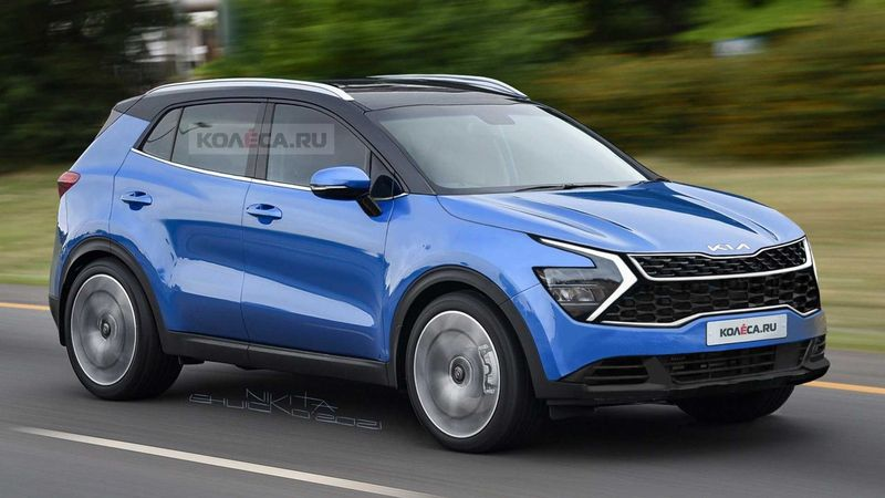 The Kia Sportage 2022 transforms with the ultimate new design, ready to bring down the Honda CR-V and Mazda CX-5 photo 1
