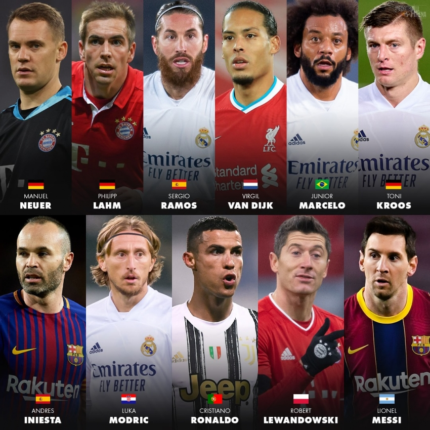 Best squad of the decade: Premier League falls short of Real Madrid Photo 2