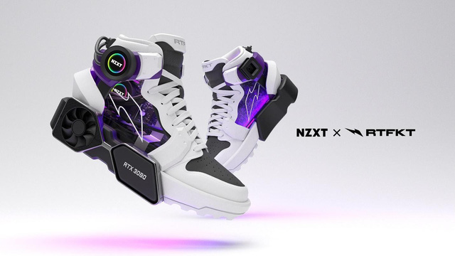 Sneakers RTFKT x NZXT Drip appeared extremely
