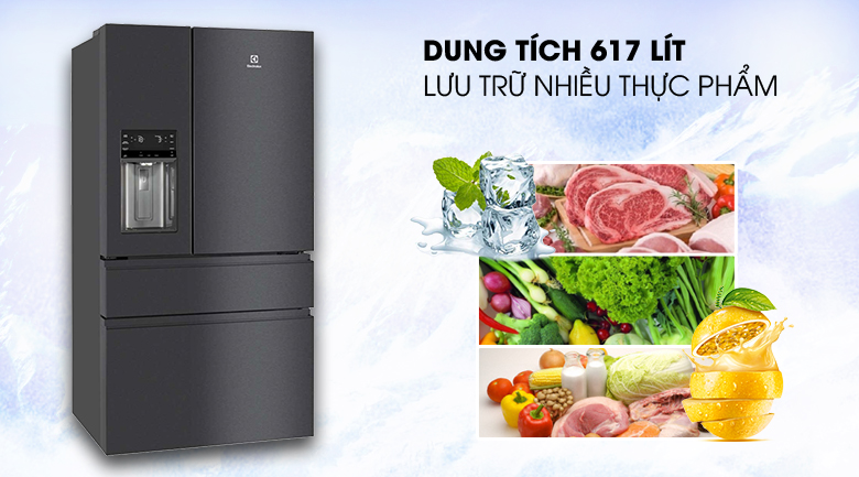 Top 3 refrigerators with large freezers suitable for storing food on Tet