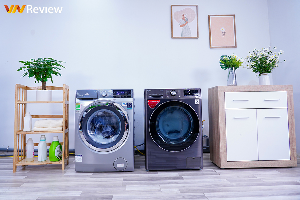 """Two horizontal washing machines """"gun battle"""": direct drive or belt will prevail?  - VnReview"""