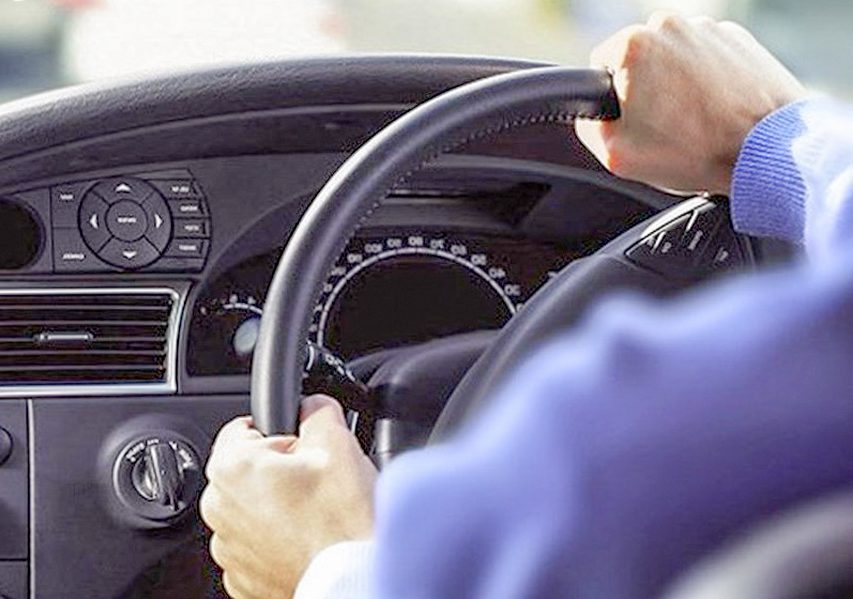 What to do when the steering wheel is deflected?