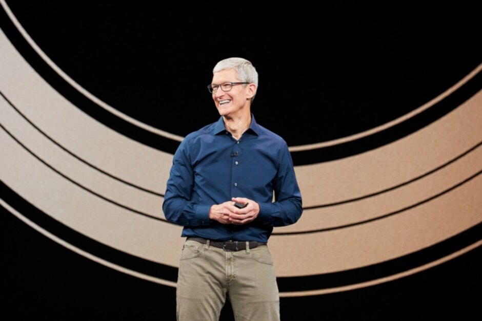 Not everyone owns an iPhone said an optimistic Tim Cook today - What did Tim Cook say today that you'll never hear on an iPhone ad?