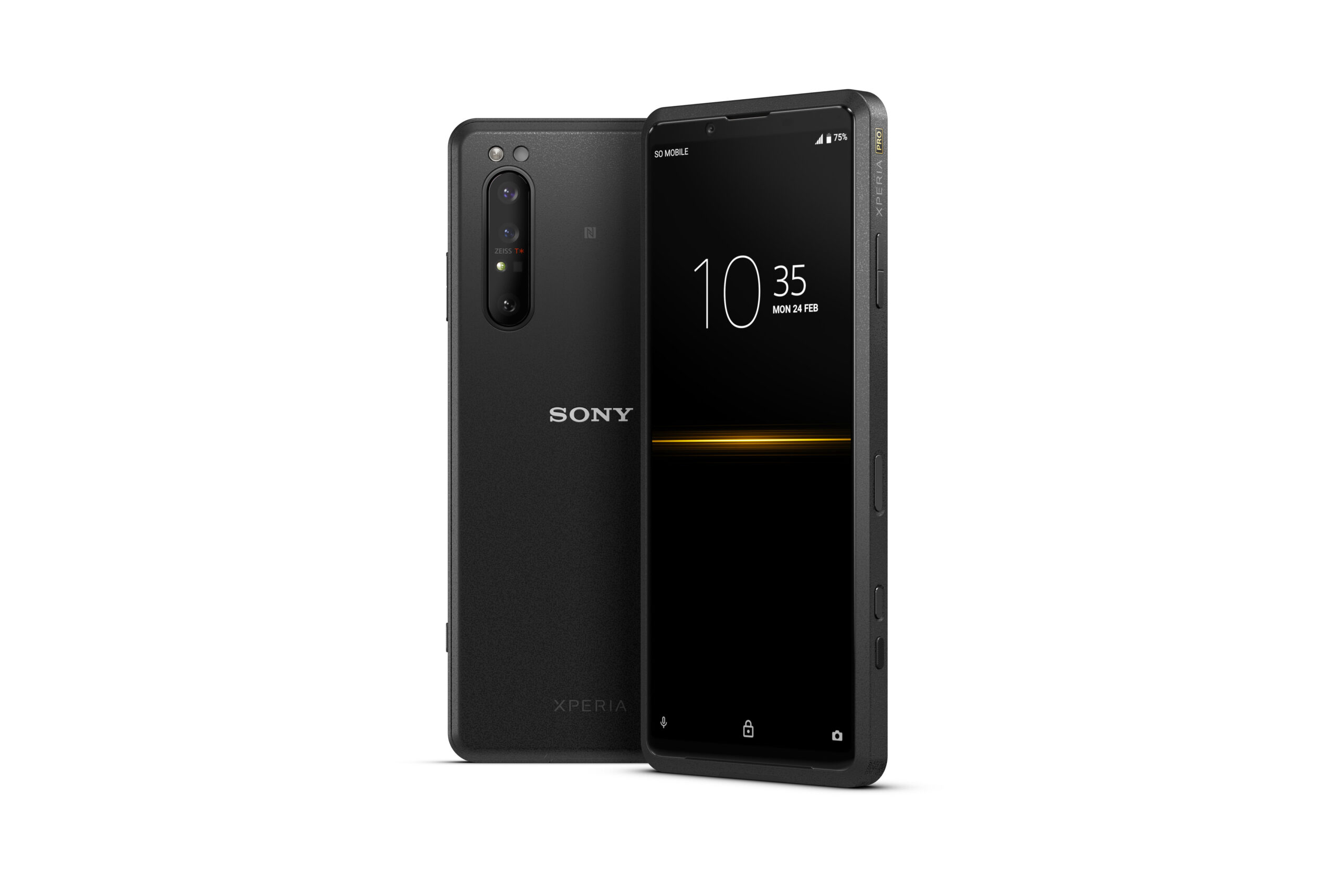 Sforum - Latest technology information page 01_Xperia_Pro_group_black_withclock_Large-scaled Xperia Pro officially on shelves: Price 2500 USD, for professional videographers