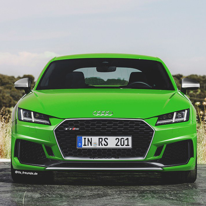 Audi TT RS: Excited on every road