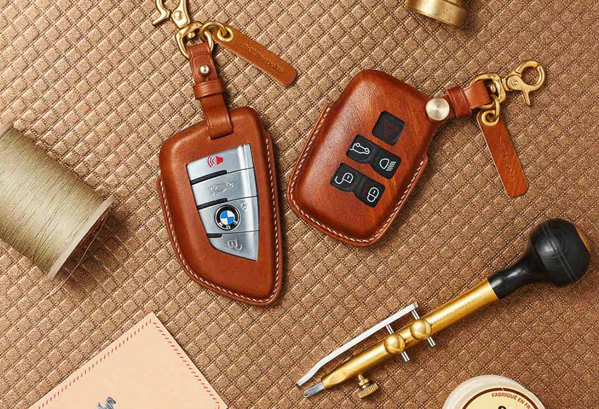 What kind of car key leather case is good?  Experience buying bags, car key covers