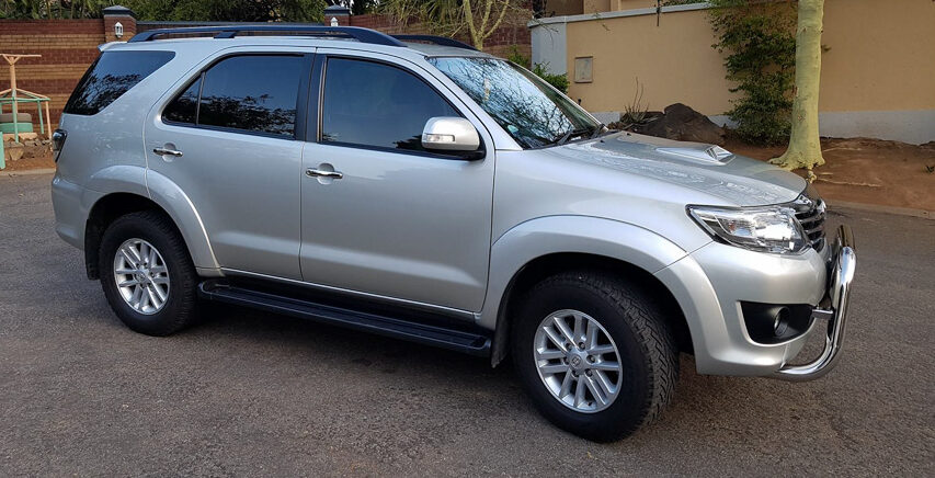 Price list for Toyota Fortuner 2013