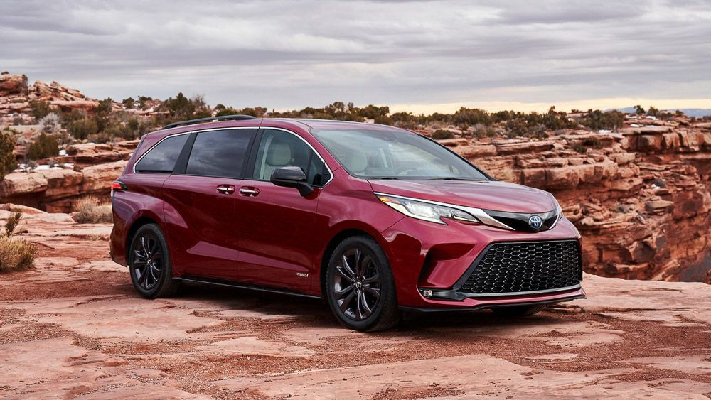 A preliminary review of the Toyota Sienna 2021