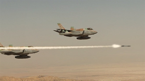 F-35I just launched a strike on Syria?