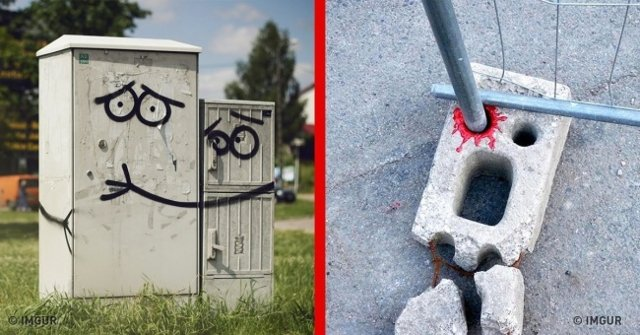 25 pieces of street art that take you into another world