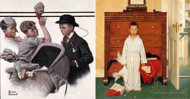 6 pictures accurately portraying the 'American culture' of the 20th century from Norman Rockwell 7 minutes to read