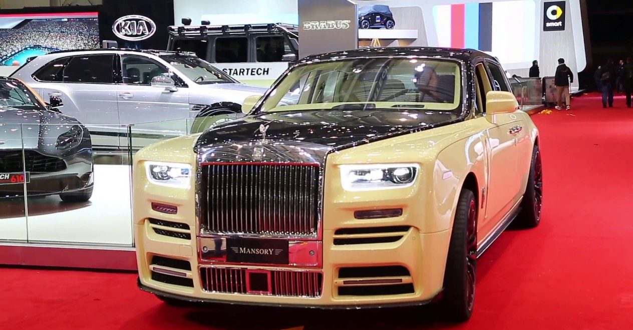 Rolls-Royce Phantom: Monument of the village of super luxury cars in the world