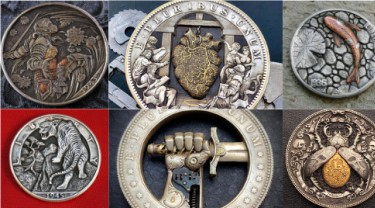 Explore Hobo Nickel, the art of ancient coin sculpture
