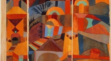 How does music play in the colorful pioneering direction of modern painting