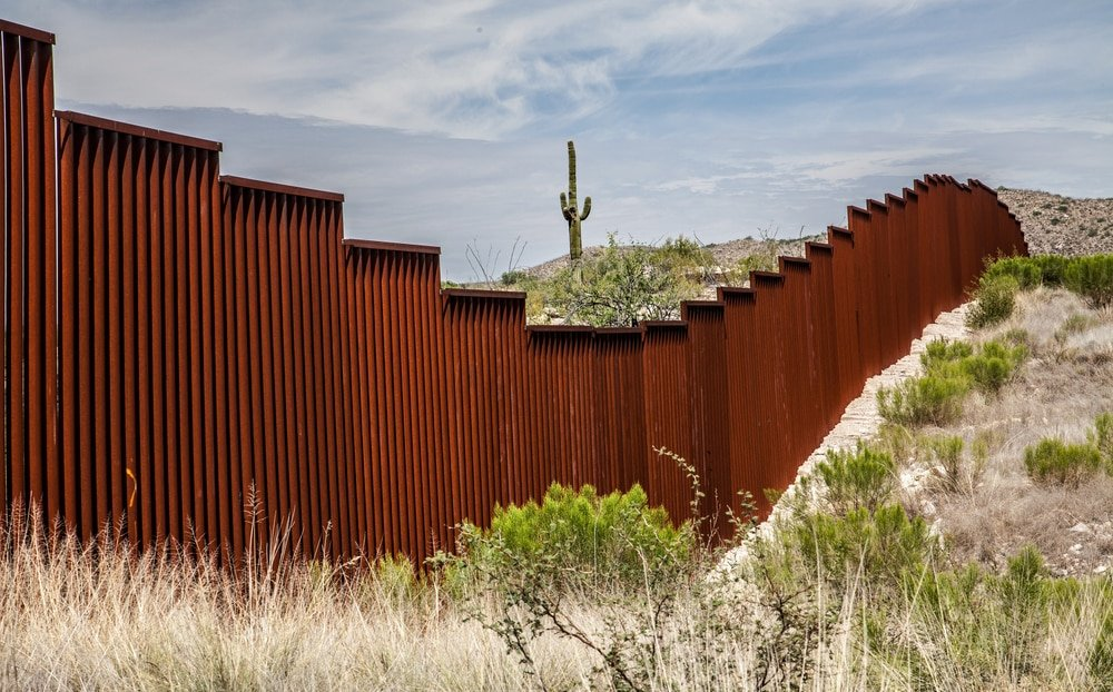 Mr Biden's decree to stop building the US-Mexico border wall may be illegal