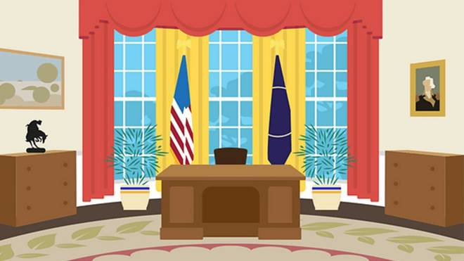 Revealing the favorite Oval Office interior color palette of the last 6 US presidents 3 minutes to read