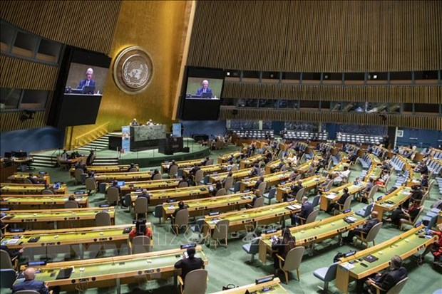 The United Nations approves a resolution to enter public security on key traffic locations 1