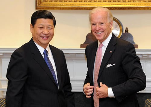 "Signs that the Biden government puts ""China first"""