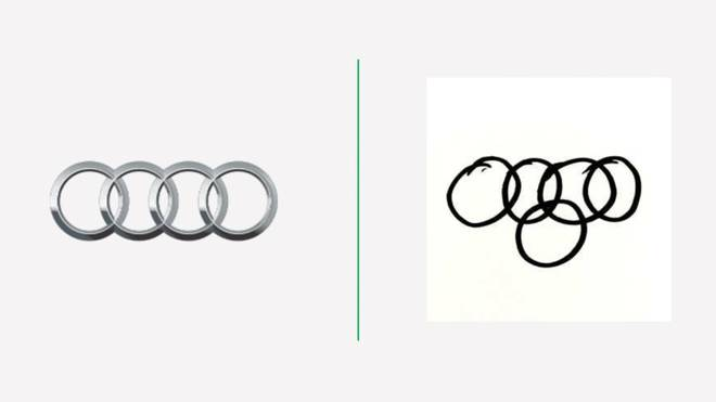 Many people redraw the car brand logos from memory, the results are fun and make us meditate for 3 minutes to read.