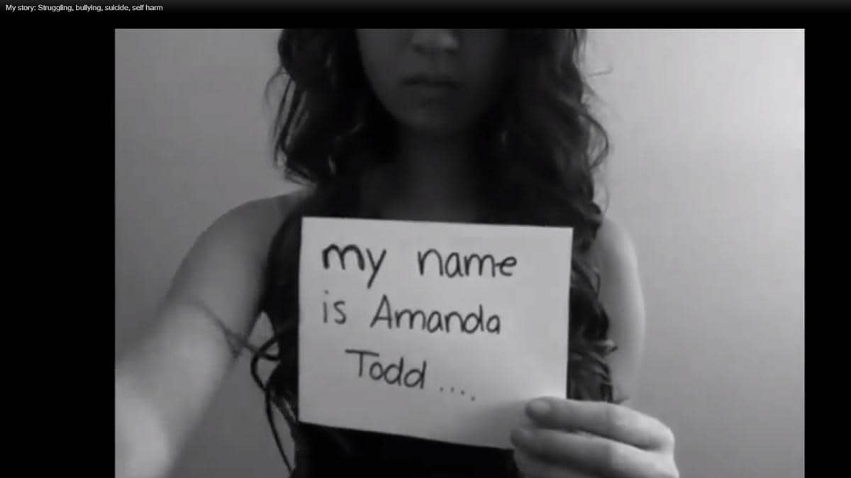 From the Netherlands Amanda Todd's cyber-stalker has arrived in the country
