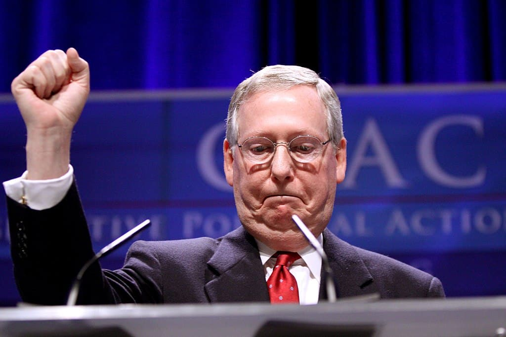 McConnell's support for voters plummeted after tensions with Trump