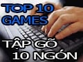 Top 10 games to practice typing with 10 fingers instead of Mario games