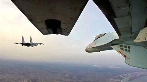 Russia intensified bombing of Central Vietnam, and pulled troops into northern Syria