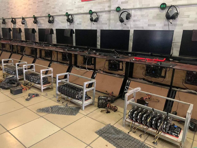 Internet shops in Vietnam turn to mining because profits are higher than reception - Photo 1.