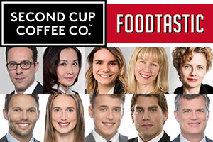 Second Cup acquired by Foodtastic