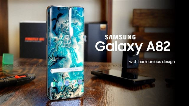 Hear Don La: Samsung Galaxy A82 5G has a sliding screen design on both ends, owns 5 cameras, runs Exynos 1080 chip and ... (Updating)