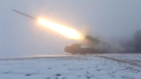 Kiev pulled the MLRS systems closer to Donbass